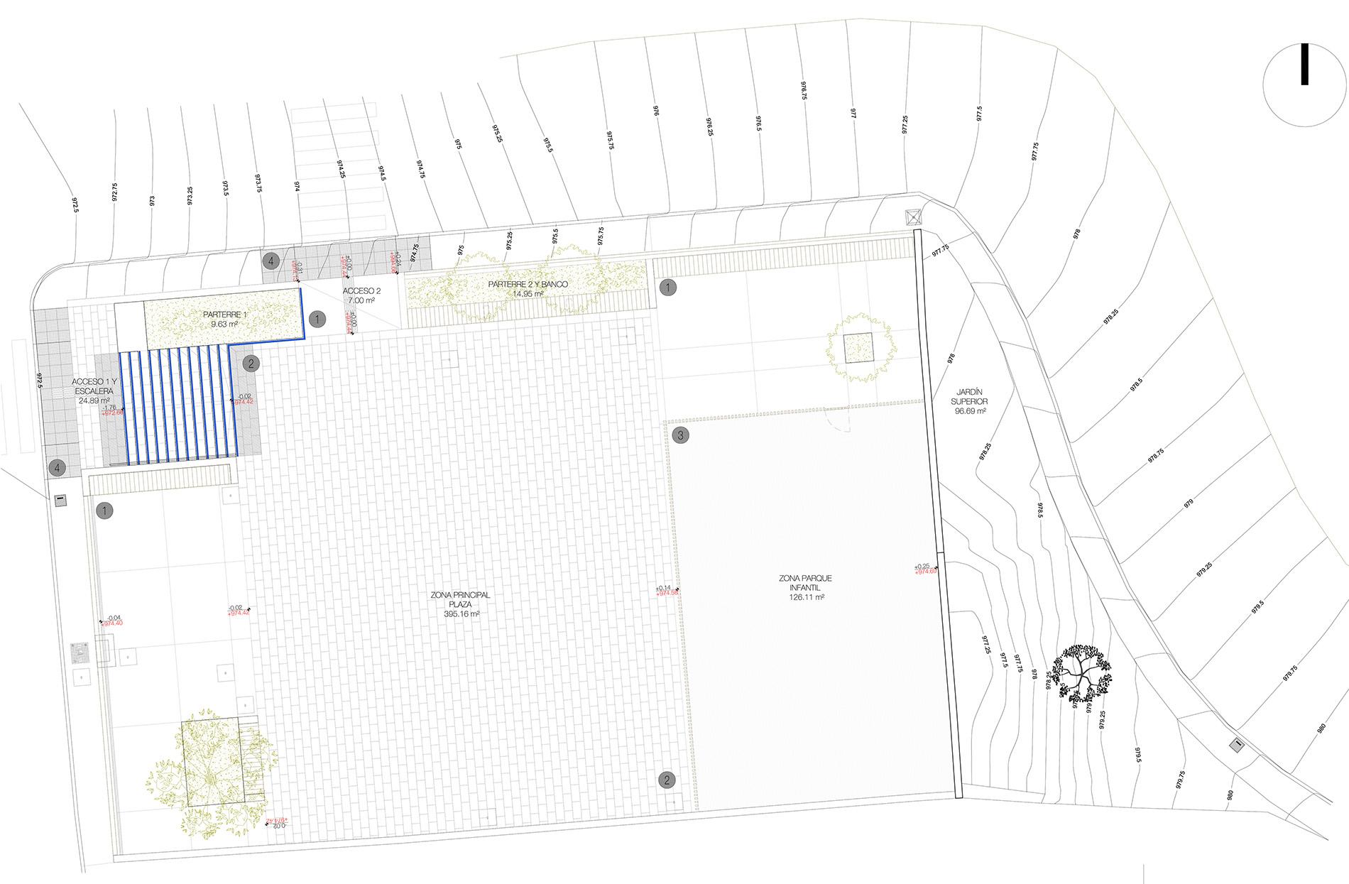 Proyecto: Plazas Santiago del Teide